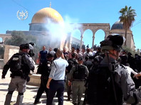 На Храмовой горе в Иерусалиме произошли стычки между мусульманами и израильской полицией