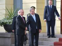 В среду президент РФ Владимир Путин прибыл в Президентский дворец в Хельсинки на переговоры с финским коллегой Саули Ниинистё