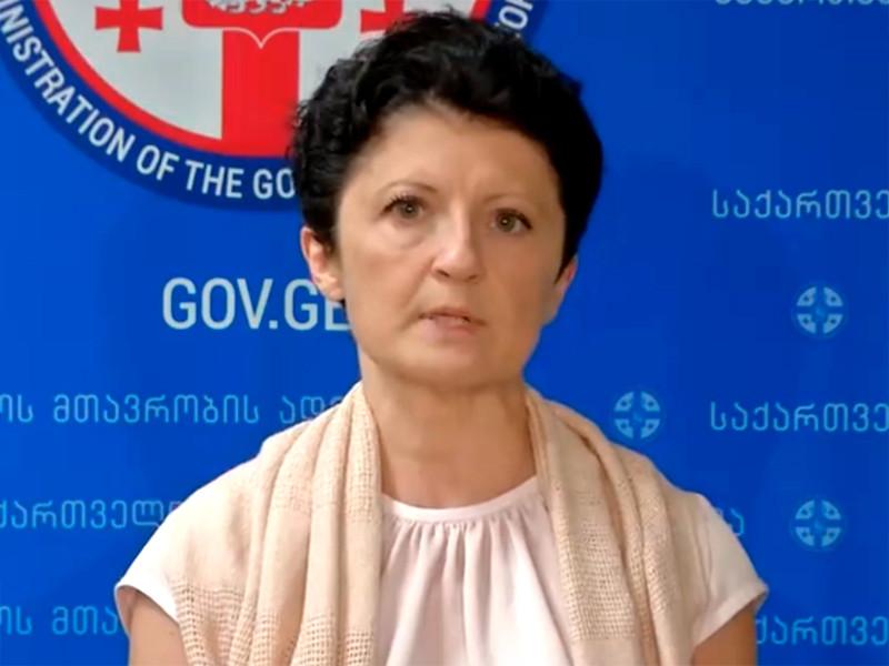 Министр юстиции республики Тея Цулукиани