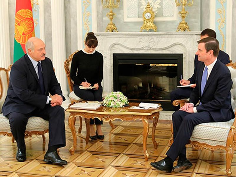 Лукашенко заявил, что Минск нацелен на укрепление отношений с Вашингтоном