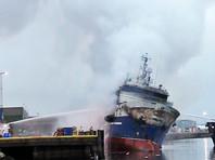 В порту норвежского Тромсё затонул горящий российский траулер, жителей эвакуировали из-за угрозы взрыва аммиака  (ФОТО, ВИДЕО)