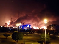 В ночь на 14 сентября хуситы атаковали предприятия саудовской национальной нефтяной компании Saudi Aramco на востоке страны 10 беспилотниками
