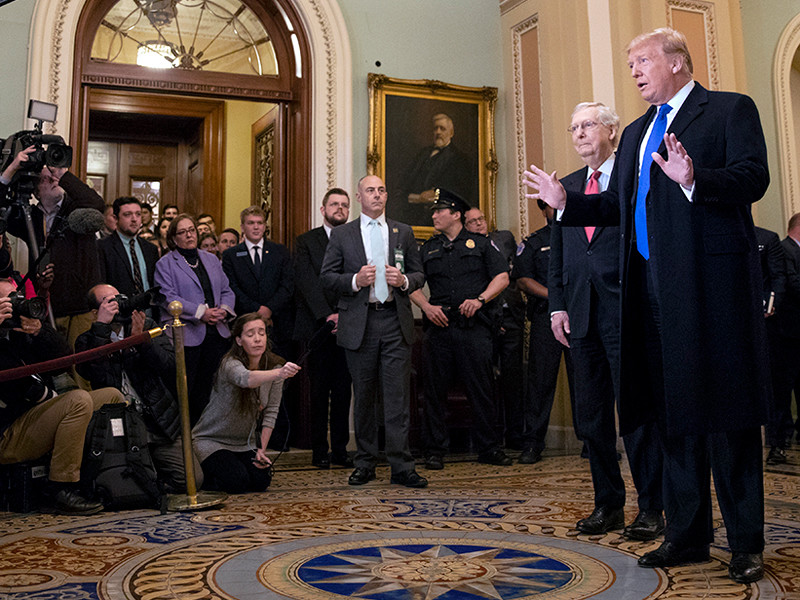 Дональд Трамп и Митч Макконнелл, март 2019 года