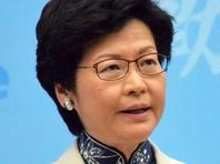 Глава Гонконга Кэрри Лэм заявила об отзыве вызвавшего большой резонанс законопроекта об экстрадиции находящихся в бегах преступников на материковый Китай