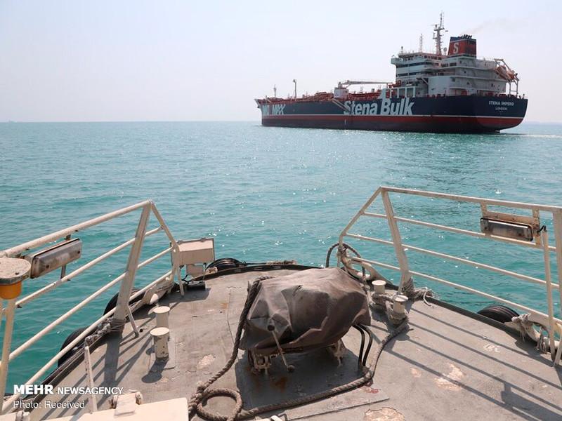 Британский нефтяной танкер Stena Impero вышел в море и направляется в ОАЭ