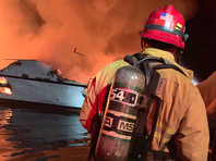 На яхте в 20 метрах от берега острова Санта-Круз произошел пожар: несколько десятков погибших и пропавших без вести (ФОТО, ВИДЕО)