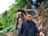 В Китае с помощью дронов в горах нашли бежавшего 17 лет назад преступника: он разучился разговаривать (ФОТО)