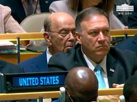 CNBC: Министр торговли США уснул во время речи Трампа на Генассамблее ООН