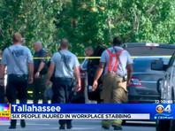 Во Флориде мужчина ранил ножом 5 сослуживцев после ссоры на рабочем месте