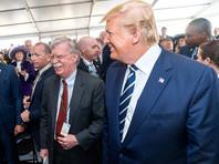Джон Болтон и Дональд Трамп, июнь 2019 года