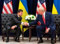 Владимир Зеленский и Дональд Трамп, 25 сентября 2019 года