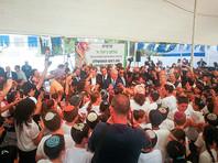 Нетаньяху обещал установить суверенитет Израиля над всеми еврейскими поселениями на Западном берегу