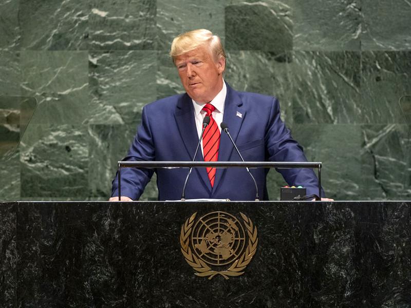 Соцсети, истеблишмент и бюрократии Запада подрывают демократию, заявил Дональд Трамп с трибуны ООН