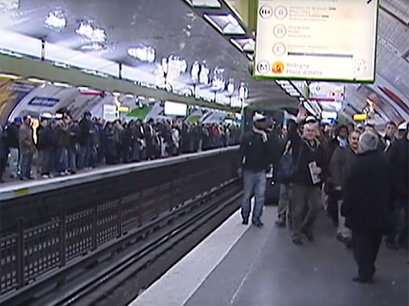 """В Париже стартовала самая массовая с 2007 года забастовка транспортников"""" />"""