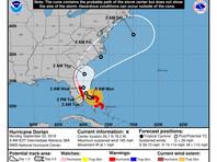 """В четырех штатах США объявлена эвакуация из-за мощного урагана """"Дориан"""" (ВИДЕО)"""