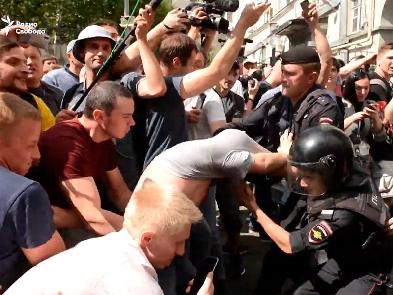 """В Конгрессе США призвали Трампа ввести санкции в отношении РФ в связи с репрессиями против митингующих в Москве"""" />"""