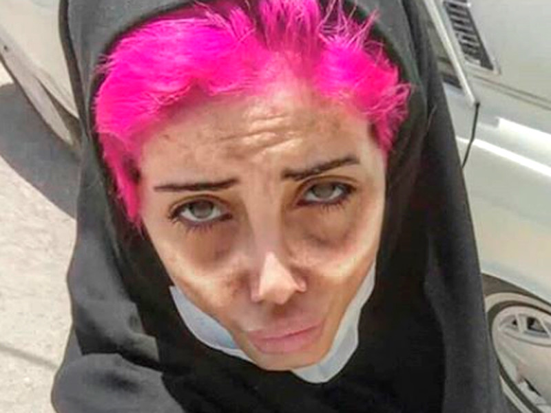 """В Иране арестовали популярную в инстаграме """"зомби-Джоли"""", обвинив ее в богохульстве и пропаганде насилия"""