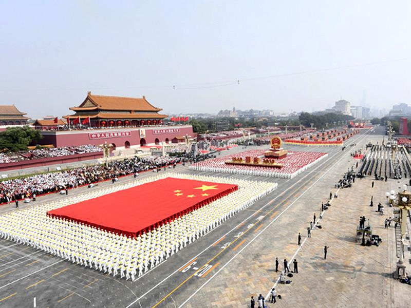 Крупнейший за всю историю Китая военный парад состоялся в Пекине в честь 70-летия КНР