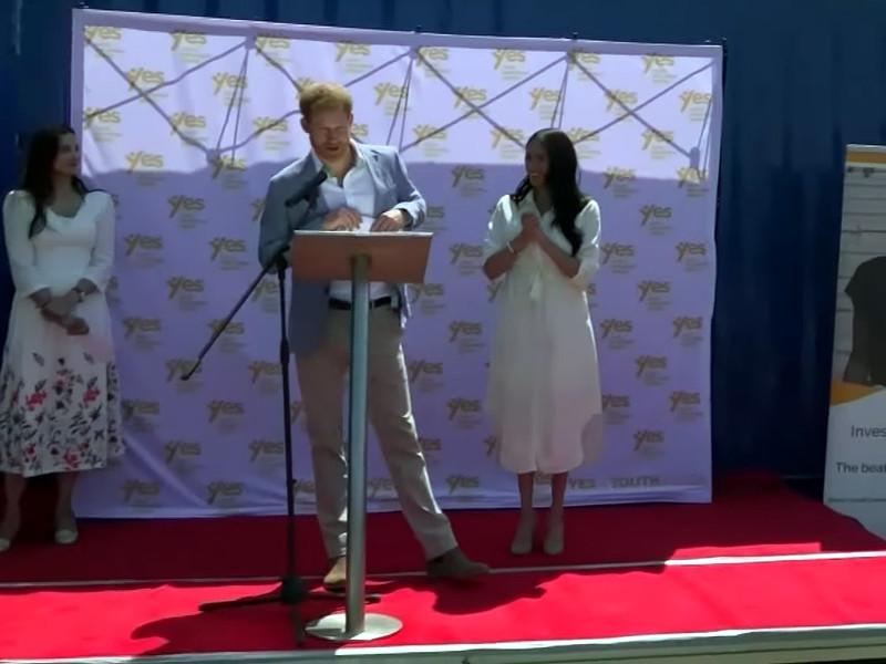 Принц Гарри боится за жену, ставшую мишенью таблоидов: мать по вине желтой прессы он уже потерял