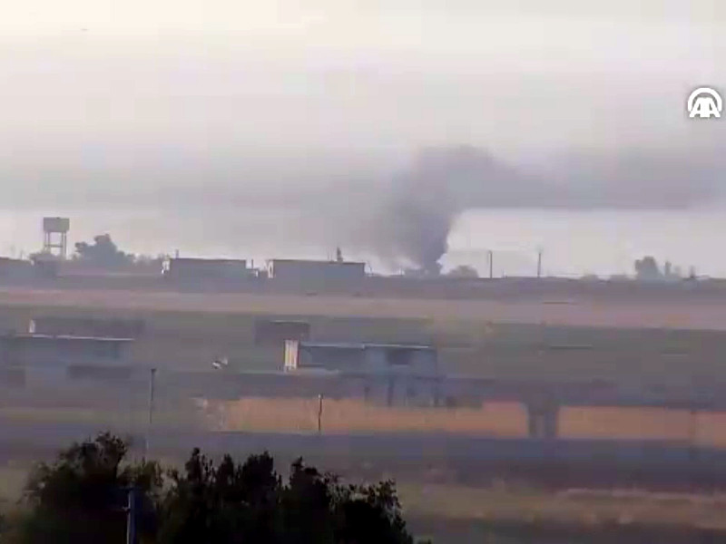 Турецкие ВВС возобновили авиаудары по району населенного пункта Рас-эль-Айн (провинция Хасеке) на севере Сирии
