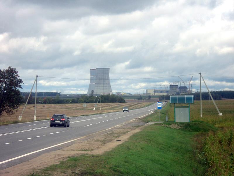 Строительство Белорусской АЭС, октябрь 2017 года