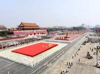 На параде в честь 70-летия КНР в Пекине  показали ракеты и беспилотники нового типа