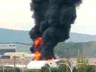 """В США при посадке разбился и сгорел бомбардировщик времен Второй мировой B-17 """"Летающая крепость"""": есть жертвы"""