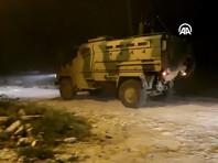 В операции также принимают участие наземные силы турецкой армии