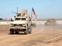 Американские и турецкие войска проводят патрулирование на северо-востоке Сирии, сентябрь 2019 года