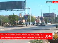 В Судане сотрудники оперативного управления разведслужб устроили мятеж