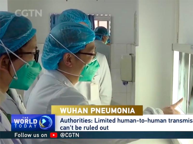 """В Китае растет число зарегистрированных случаев пневмонии нового типа"""" />"""