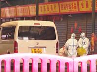 Число заболевших пневмонией нового типа в КНР выросло до 876 человек, погибли 26