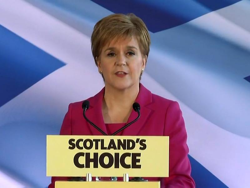 """Британский премьер-министр Борис Джонсон отказал Шотландии в повторном референдуме о независимости"""" />"""