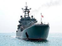 """Большой десантный корабль """"Орск"""", 20 марта 2018 года"""
