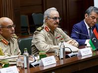 Ливийский фельдмаршал Хафтар отказался подписать соглашение о перемирии на переговорах в Москве