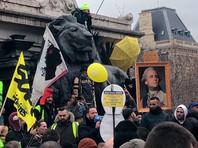Накануне в Париже состоялась новая акция протеста, в Париже полиция применила слезоточивый газ против демонстрантов. Полиция сообщила о задержании 19 человек