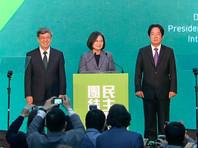 На выборах главы администрации Тайваня победила партия, выступающая за независимость острова