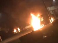 В Страсбурге в новогоднюю ночь сожжено 220 автомобилей