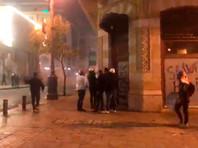 Полиция применила водометы и слезоточивый газ против демонстрантов в Бейруте