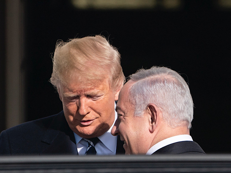 """Трамп заявил о готовности США продолжать борьбу с антисемитизмом"""" />"""