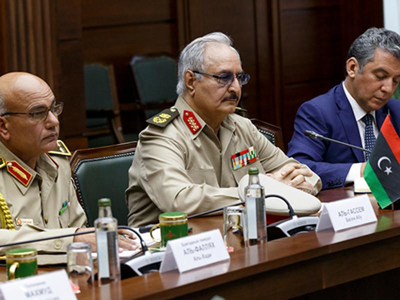 Командующий Ливийской национальной армии (ЛНА) фельдмаршал Халифа Хафтар покинул Москву, где проходили переговоры по урегулированию конфликта в Ливии, без подписания соглашения о перемирии с Правительством национального согласия (ПНС) Фаизом Сарраджем