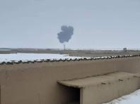 """В Афганистане на подконтрольной """"Талибану""""* территории разбился самолет"""