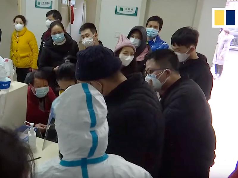 Власти Китая закрыли для въезда и выезда город Ухань, откуда по миру расползается опасный коронавирус