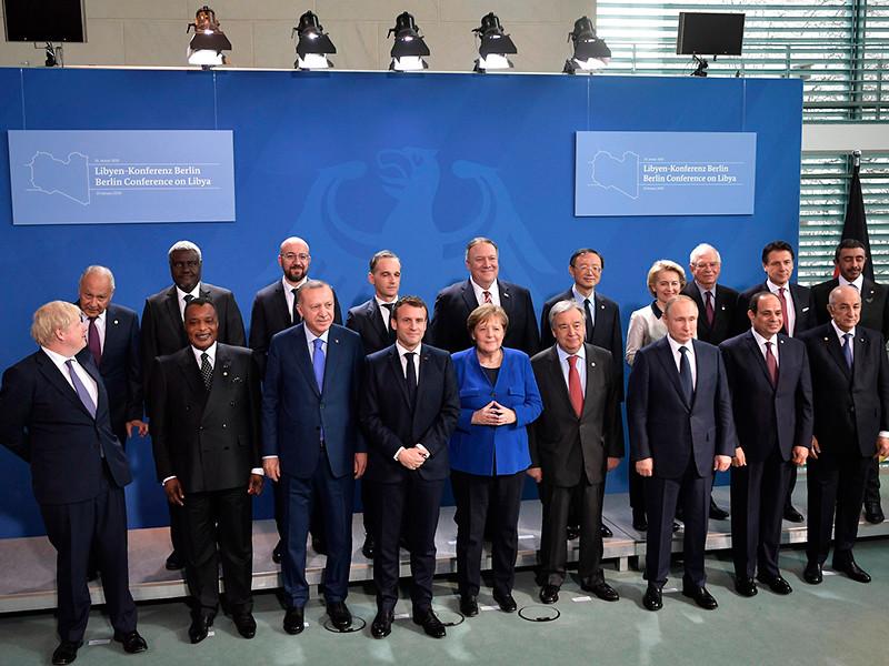 """Участники берлинской конференции договорились урегулировать ситуацию в Ливии путем переговоров и отказались от поставок оружия"""" />"""