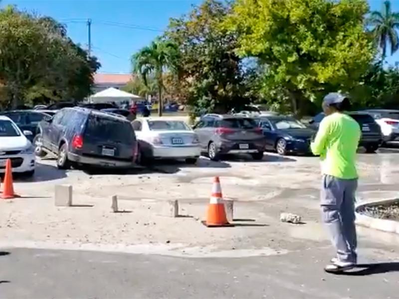 """Самое мощное землетрясение года: на островах Кайман проваливается грунт, в Майами раскачивались высотки (ФОТО, ВИДЕО)"""" />"""
