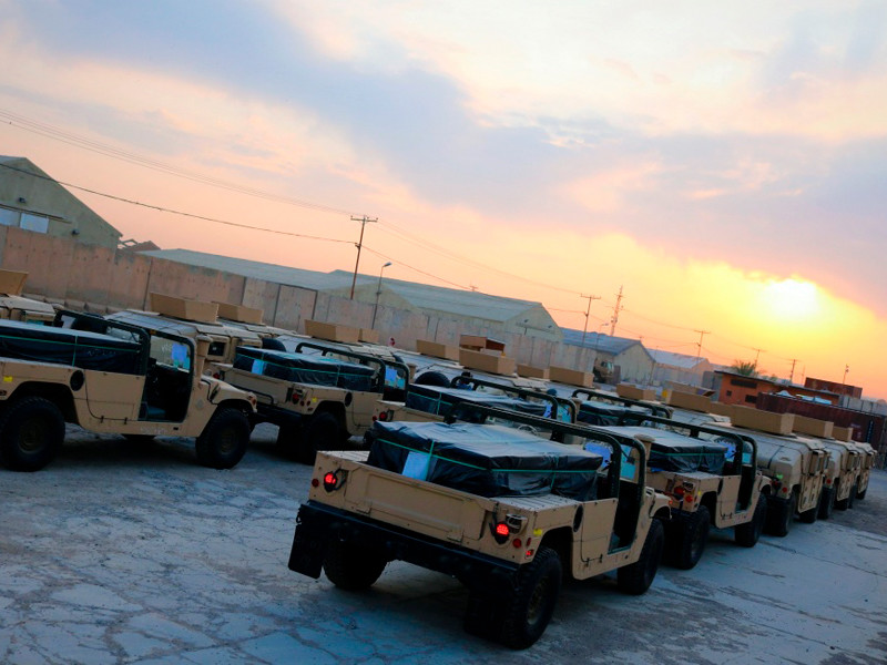 Американская база Эт-Таджи в Ираке подверглась ракетному удару