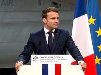 """Франция направит в этом месяце атомный авианосец """"Шарль де Голль"""" в ближневосточный регион с тем, чтобы поддержать французские военные операции. Об этом заявил в четверг президент страны Эмманюэль Макрон, выступая перед военнослужащими на базе ВВС близ Орлеана"""