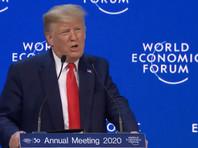 """Она также прокомментировала заявление Дональда Трампа, что США присоединятся к акции """"Один триллион деревьев"""", запущенной в Давосе"""