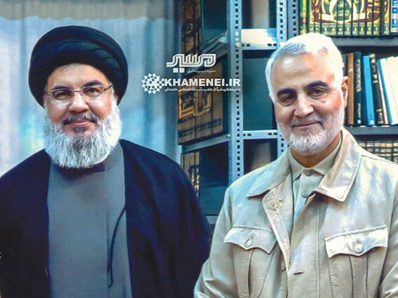 """Лидер """"Хизбаллах"""" призвал к """"расправе над американскими убийцами моджахедов"""" после ликвидации иранского генерала Сулеймани"""" />"""