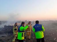 Пассажирский самолет со 180 пассажирами на борту упал в тегеранском аэропорту имени имама Хомейни в среду